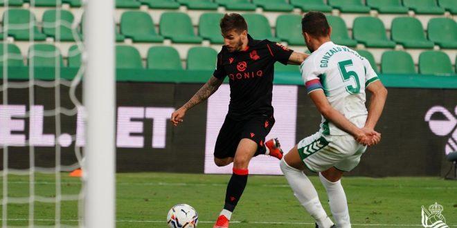 Gonzalo Verdú. Foto: Real Sociedad.