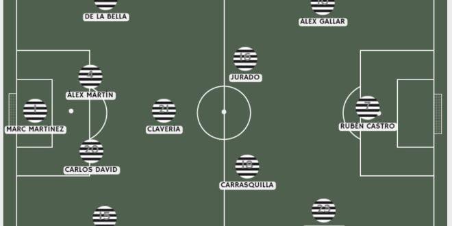 11 de la afición ante el Leganés