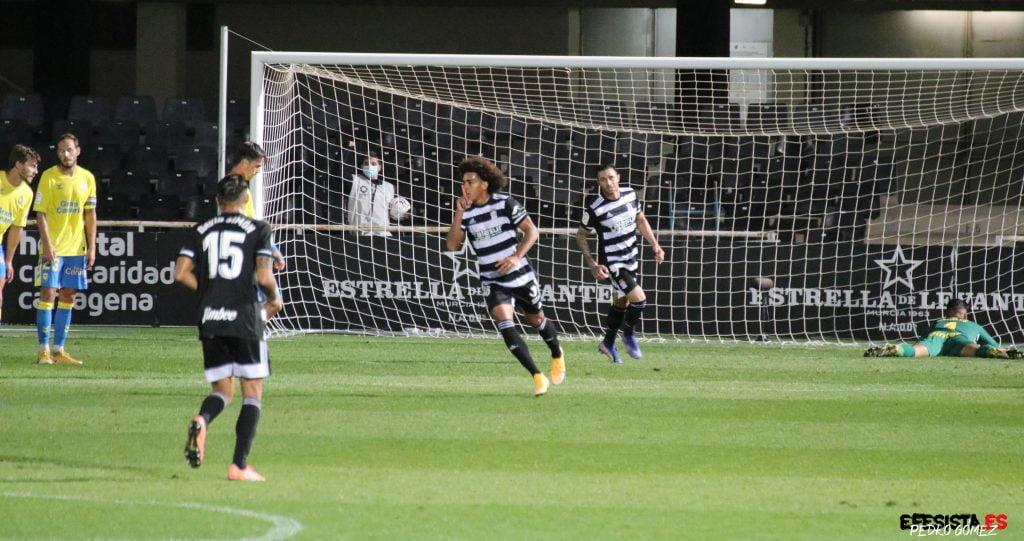 Gol de Carrasquilla a Las Palmas