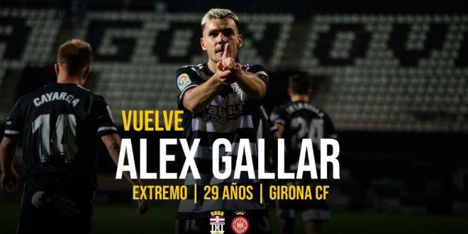 Álex Gallar seguirá maravillando al Cartagonova