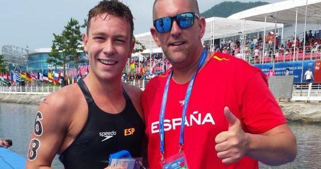 Alberto Martínez es el único cartagenero en los Juegos Olímpicos