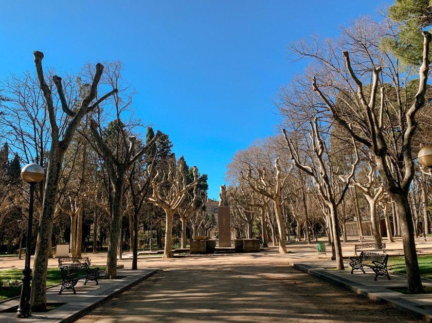 Parque en Huesca