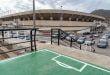 Finalizan las obras y pruebas de fuerza en el Fondo norte bajo del Estadio Cartagonova, que podrá acoger público en el próximo partido del Efesé