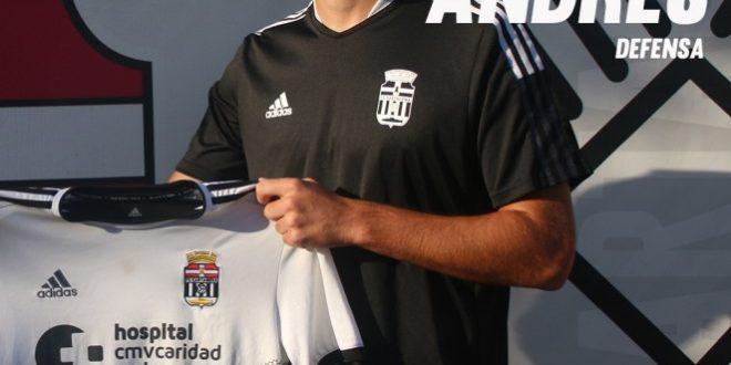 Andrés Rodriguez, contundencia para la defensa del FC Cartagena 'B'