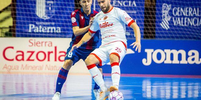 Un Jimbee Cartagena comedido logra sacar un empate en Paterna (2-2)