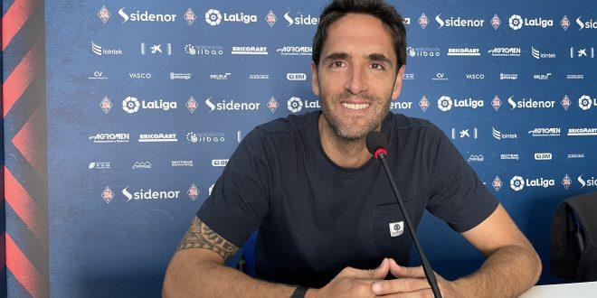 Íñigo Vélez de Mendizabal: «Queremos que todo el trabajo que estamos haciendo se traslade en ganar»